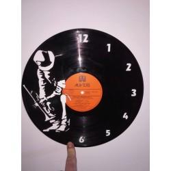 Horloge vinyle jazz