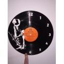 Horloge vinyle thème Jazz