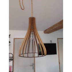 Lampe bulbe suspendue